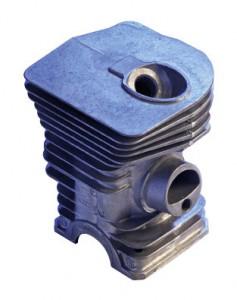 Druckgussteil-Zylinder, 4 x Schieber