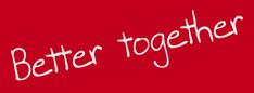 Slogan: Better together